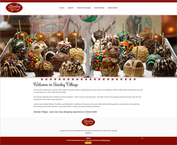 Stanley Village Website